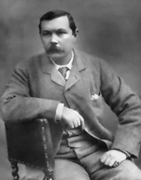 Arthur Conan Doyle Image source: National Portrait Gallery