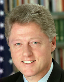 Bill Clinton Image source: US government