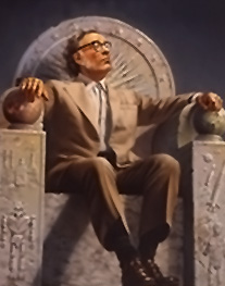 Isaac Asimov Image source: http://en.wikipedia.org/wiki/File:Isaac_Asimov_on_Throne.png