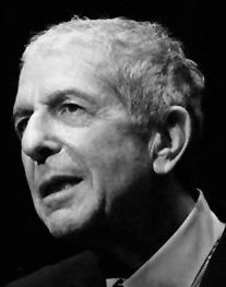 Leonard Cohen Image source: Rama