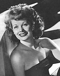 Lucille Ball Image source: http://en.wikipedia.org/wiki/File:Lucy_YankArmy_cropped.jpg
