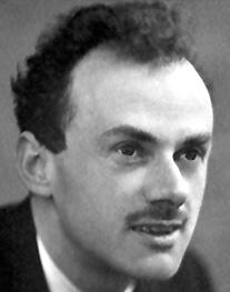 Paul Dirac Image source: Nobel Foundation