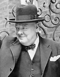 Winston Churchill Image source: UK government