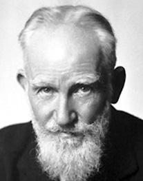 George Bernard Shaw Image source: Nobel Foundation