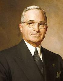 Harry Truman Image source: Greta Kempton