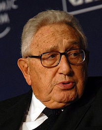 Henry Kissinger Image source: World Economic Forum