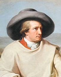 Johann Goethe Image source: Johann Tischbein