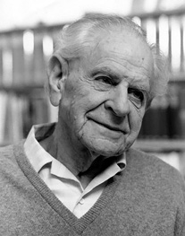 Karl Popper Image source: London School of Economics