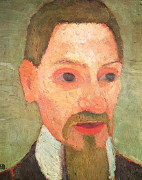 Rainer Rilke Image source: Paula Modersohn-Becker