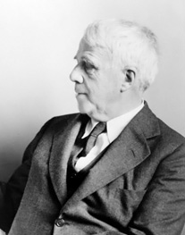 Robert Frost Image source: Library of Congress