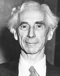 Bertrand Russell Image source: Bertrand Russell Gallery, McMaster University