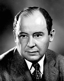 John Von Neumann Image source: United States Department of Energy