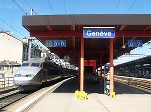 Genève Cornavin Image source: Florian Pèpellin