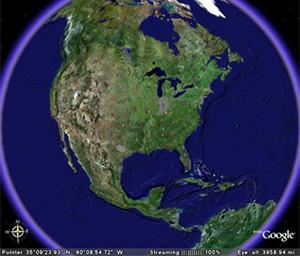Google Earth Image source: Google Inc.