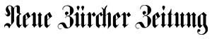 Neue Zürcher Zeitung Image source: Neue Zürcher Zeitung