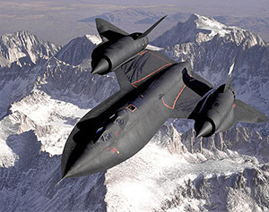 SR-71 Image source: NASA