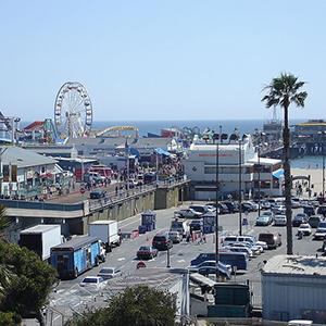 Santa Monica Pier Image source: Jarobeq at en.wikipedia