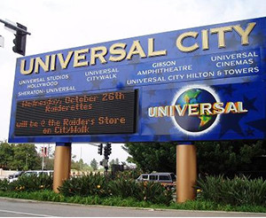 Universal City Image source: Zink Dawg