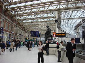 Waterloo Station Image source: Oxyman