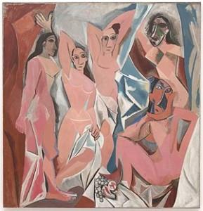 Les Demoiselles d'Avignon Pablo Picasso, 1907
