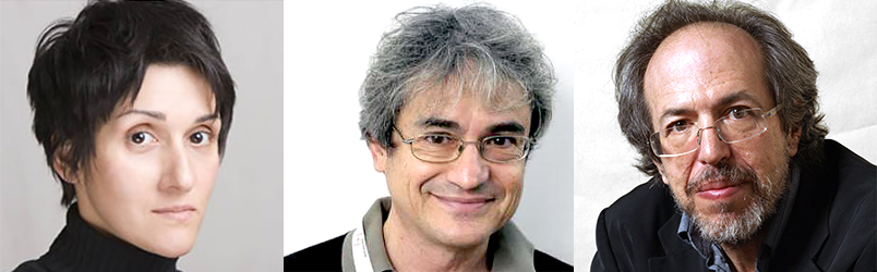Fotini Markopoulou, Carlo Rovelli and Lee Smolin