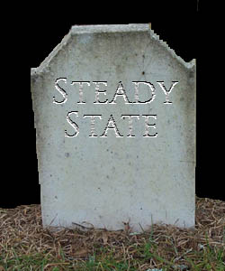 Steady state death