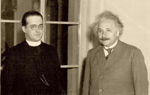 Georges Lemaître and Albert Einstein