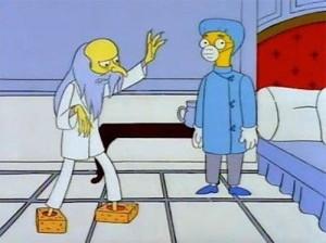 Hughes Simpsons tissue-box