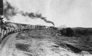 The Ghan near Oodnadatta 1910