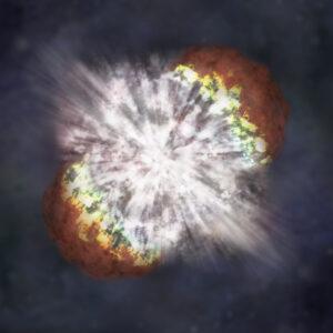 Supernova NASA illustration
