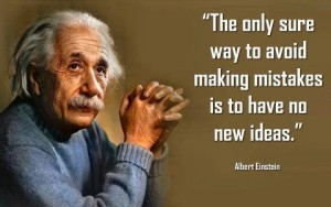 Einstein no new ideas