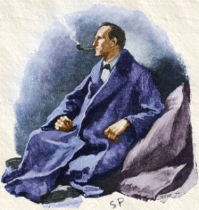 Sherlock Holmes by Paget - Image for The Dark Matter Mystery Is Solved!